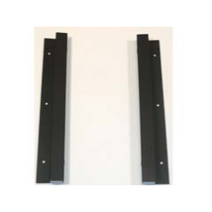 Focal Point F710869 Glass Mounting Bracket L23 & L27 Wall Hung to fit the Next Black Flueless