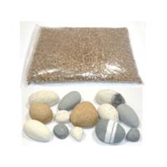 Focal Point Coal038 Dgf Pebble Effect Ceramic Kit to fit the Screwfix Polaris White Stone Effect Inset