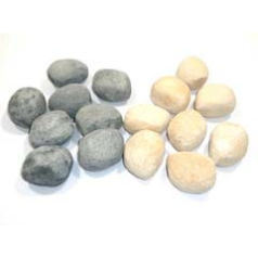 Focal Point F550050 Ceramic Pebbles (16) to fit the Eko 2050 Pebble Effect Inset Remote Control