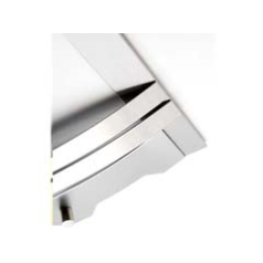 Focal Point F820016 Contemporary Brushed Silver Frame to fit the B&Q Lulworth Full Depth Inset