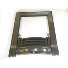 Focal Point F820241 Finsbury Chrome Frame to fit the B&Q Finsbury Finger Slide Full Depth Chrome Inset
