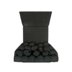 Focal Point Coal018 Slimline Coal Effect Ceramic Set to fit the Eko 3010 Coal Effect Remote Control Inset